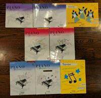 Faber Piano Adventures Primer Level -2A Books FJH Music Lot of 8 Christmas Hymns