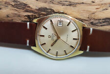 VINTAGE 1968 OMEGA GENEVE GP CHAMPANGE DIAL DATE CAL:565 AUTOMATIC MAN'S WATCH