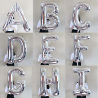 30inch Gold Silver Letter Foil Balloon Birthday Party Wedding Decor Large Helium
