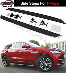 Running Boards Side Steps Pedal Nerf Bar fits for Jaguar F-Pace F Pace 2016-2021