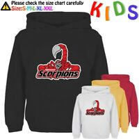 UNOFFICIAL Hannover Red Scorpions Kids Gift Girls Boys Graphic Sweatshirt Hoodie
