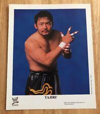 TAJIRI 2002 WWE WRESTLING 8X10 PROMO PHOTO UN-SIGNED ECW ROH WCW WWF NWA