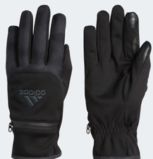 Adidas Running Gloves Mens L/XL New Voyager 2.0 Water Resistant Insulated Black
