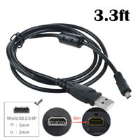 Fite ON USB Data Cable Cord for Casio CAMERA Exilim EX-ZS20 EX-N5 EX-N20 EX-N50