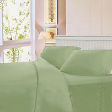 4 Piece Bed Sheet Set Deep Pocket 6 Color 5 Size Available New