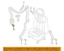 GM OEM Front Seat Belt-Retractor Assembly Bolt 11589004
