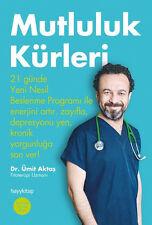 """Turkce  Kitap  """" Umit Aktas """" """" MUTLULUK KURLERI """" Turkish Book Registered Mail"""
