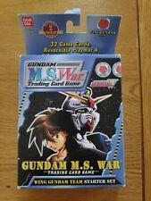 Gundam Ms War Trading Card - Wing Gundam Starter set