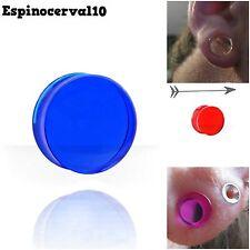 Dilataciones Plug Transparentes efecto Cristal 2-20mm Ear tunnel