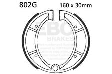 FIT HUSQVARNA XC 430 80>81 EBC FRONT GROOVED BRAKE SHOES