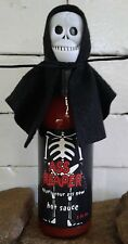 Ass Reaper Hot Sauce with Skull Cap and Cape  5 oz Bottle Hot Sauce