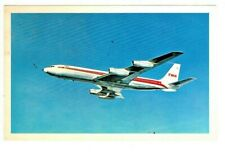 VINTAGE  - TWA STAR STREAM  - POST CARD 1967