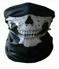 Half Face skull mask - Skeleton Ghost Biker ops Balaclava bandana