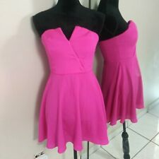 Naven Sweetheart Pink Dress Womens Size 2 Strapless Mini Cocktail