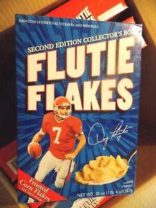 L@@K FLUTIE FLAKES  W/ORIGINAL CASE BOX/ 4 FULL CEREAL 3 EMPTY SEE PICS SeeBelow