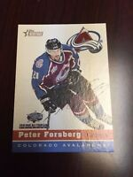 2001 Topps Heritage All-Star Game Colorado Avalanche #3 Peter Forsberg Card