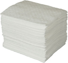 New listing Brady Spc Basic Oil-Only Heavy Weight Absorbent Pad, White, 15llll L X 17llll