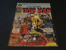 1975 THE INVINCIBLE IRON MAN # 40 IN FRENCH EDITIONS HERITAGE CANADA
