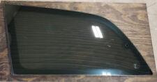 Driver Side Rear Quarter Vent Window Glass 1991-1997 Toyota Previa Factory Tint