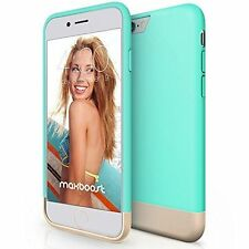 Maxboost iPhone 6 Plus Case [Vibrance Series] Turquoise (5.5) Case