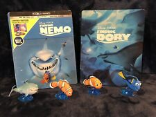 Disney New Finding Nemo 4k Steelbook with Used: Finding Dory Steelbook Blu-Ray