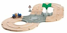 BRIO City Road Track Set with Fuel Station