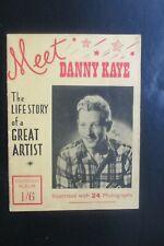 1948 MEET DANNY KAYE THE LIFE STORY OF THE GREAT ARTIST SOUVENIR ALBUM