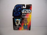 1995 Kenner Star Wars The Power of the Force Yoda Jedi Trainer Backpack Figure