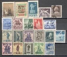 R8990 - POLONIA 1955 - LOTTO TEMATICI DIFFERENTI - VEDI FOTO