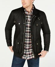Barbour International Steve McQueen Men's Duke Wax Jacket, Black, XL