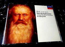 Johannes Brahms: The Symphonies 1-4 (4x CD BOX 1991, 4 Discs, London) Solti