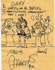 Sergio Aragones Groo the Wanderer Alfred E Newman RARE Personal Original Art Comic Art