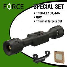 Atn Thor Lt 160 4-8x + Free Set: Qdm + Thermal Targets Set + Fedex 2Day