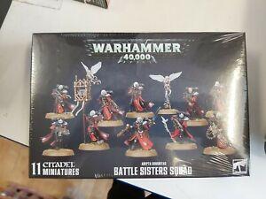 Adepta Sororitas Battle Sisters Squad Warhammer 40,000 NEW IN STOCK