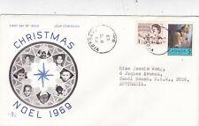 Canada 1969 Christmas FDC Victoria CDS VGC