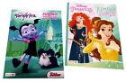 Disney Princess Coloring Book Vampirina Disney Junior Activity Books Set of 2