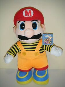 "Nintendo 2003 Hudson Soft Mario Party MARIO 15"" Plush Stuffed Toy"