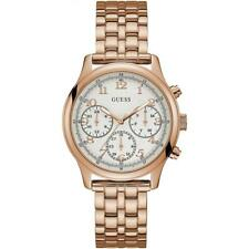 Authentic GUESS Ladies' Taylor Watch ROSR Gold Tone W1018L3