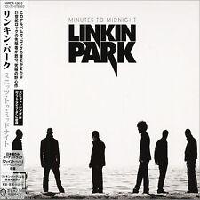 LINKIN PARK - Minutes To Midnight - Japan CD w/Bonus - WPCR-12610