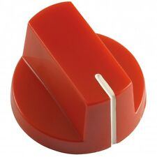 Large Bar Knob with Indicator, Red for Pedals Guitars Amps & DIY Projects
