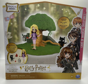 HARRY POTTER MAGICAL MINIS LUNA LOVEGOOD CARE OF MAGICAL CREATURES SET THESTRAL
