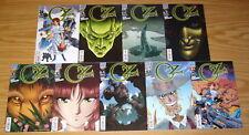 Wizard of Oz: the Manga #1-8 VF/NM complete series + epilogue DAVID HUTCHISON