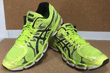 Asics Gel Nimbus 16 FluidRide Women's Athletic Running Shoes Yellow / Black 10 M