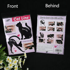 1BAG Charming Cat Line Eye Makeup Tool Eyeliner Stencils Template Shaper Model