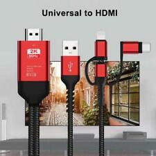 3 en 1 Usb Tipo C MHL a HDMI Cable 1080P Hd Tv Adaptador para iPhone/Samsung/Huwai