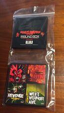 """Insane Clown Posse Blind Box Full Set of (4), 3"""" Vinyl Record, New, Color Vinyl"""