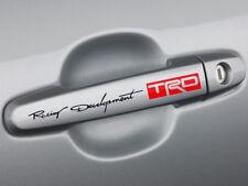 Racing Development TRD Door Handle Decal Sticker TRD Tacoma Tundra 86 Camry Yari