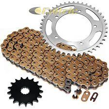 Golden O-Ring Drive Chain & Sprockets Kit Fits SUZUKI GSX-R1000 GSXR1000 2001-06