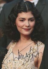 Audrey Tautou autógrafo signed 20x30 cm imagen