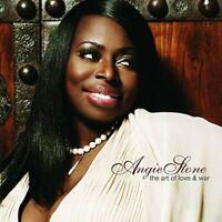 Angie Stone - The Art of Love & War - Angie Stone CD WOVG The Fast Free Shipping